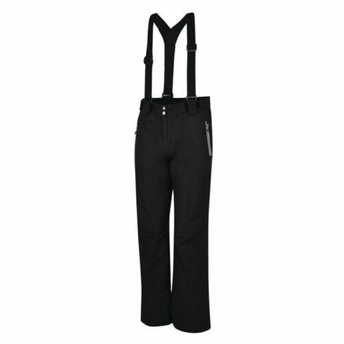 DARE2B Womens INTRIGUE BLACK Ski Pants Salopettes Size 8-20 SHORT LEG