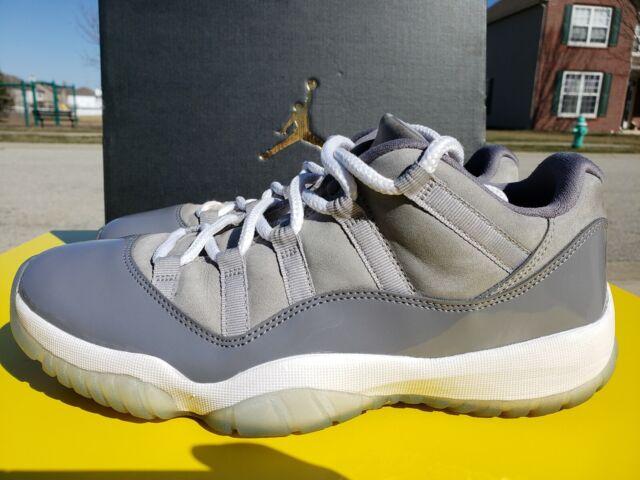 429b82e60a4f0 Nike Air Jordan retro 10 X low cool grey shoes mens sz 10 GENTLY WORN NICE!