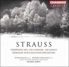 Strauss: Symphony No. 2 in F minor; Six Songs; Romanze for Cello and Orchestra (CD, Sep-2004, Chandos)