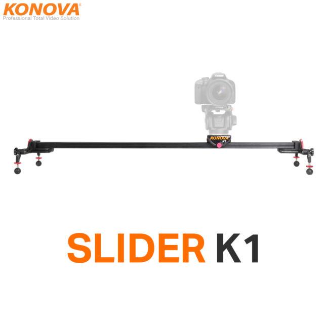 KONOVA K1 Camera Slider Dolly Stabilizing Rail System Bearing Type (slider only)