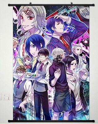 POPULAR Anime Tokyo Ghoul Kaneki Ken Home Decor Poster Wall Scroll Japan New 109