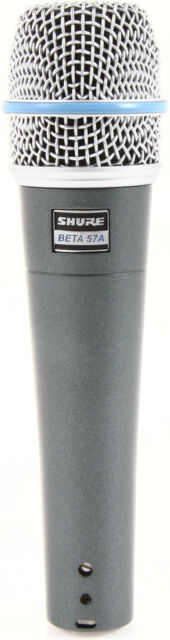 New Shure BETA 57A Instrument Vocal Mic Authorised Dealer Best Deal on eBay!