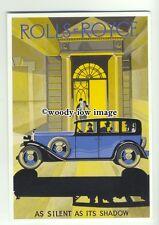 ad1214 - Rolls Royce Car - Modern Advert Postcard