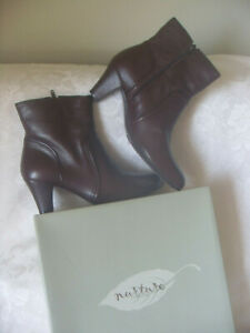Nurture-Brown-Leather-Ankle-Boots-SIZE-9-5M-99-00-New-with-box