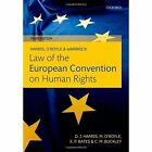 Harris, O'Boyle, and Warbrick Law of the European Convention on Human Rights by Michael O'Boyle, Edward Bates, Carla Buckley, David Harris (Paperback, 2014)
