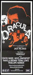 DRACULA-Original-Daybill-Movie-Poster-JACK-PALANCE-Simon-Ward-Bram-Stoker-Horror