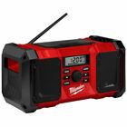 Milwaukee M18JSR-0 18V Jobsite Radio