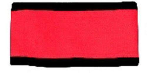 Armband Set ROT für Hauptschiedsrichter Größe CCM Armbinden