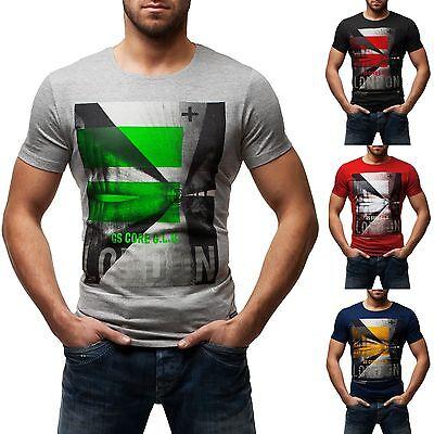 OZONEE GLO-STORY 5388 Herren T-Shirt NEU! Kurzarm Shirt LONDON Gr. M L XL 2XL