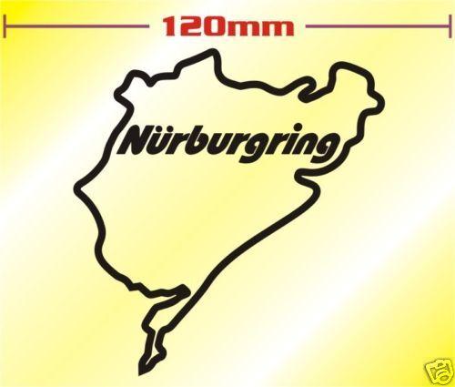 Nurburgring Decal Sticker Suzuki GSXR GSXF Bandit SV  O