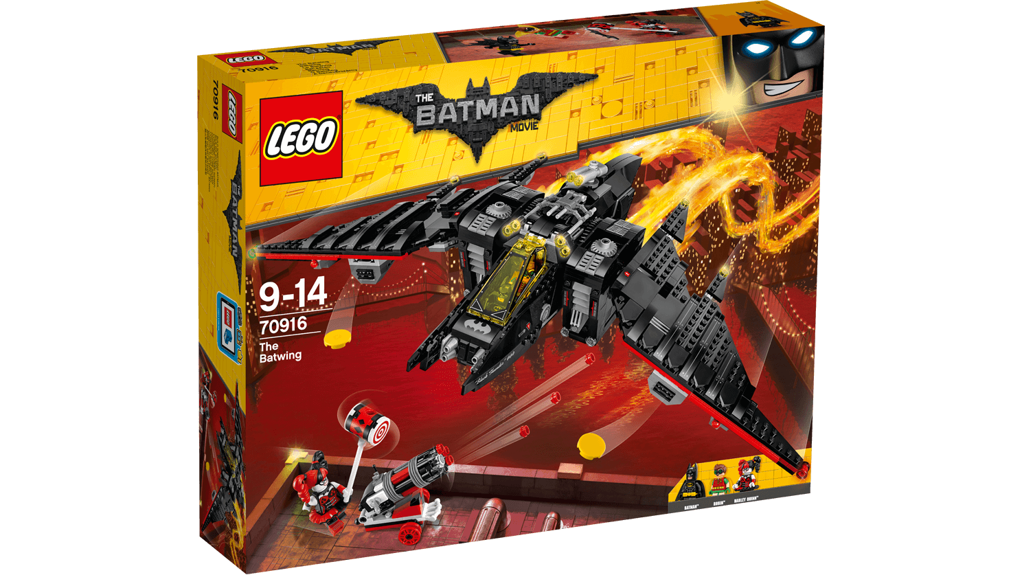 LEGO 70916  Bat-aereo - BATMAN Movie 9-14 Pz 1053