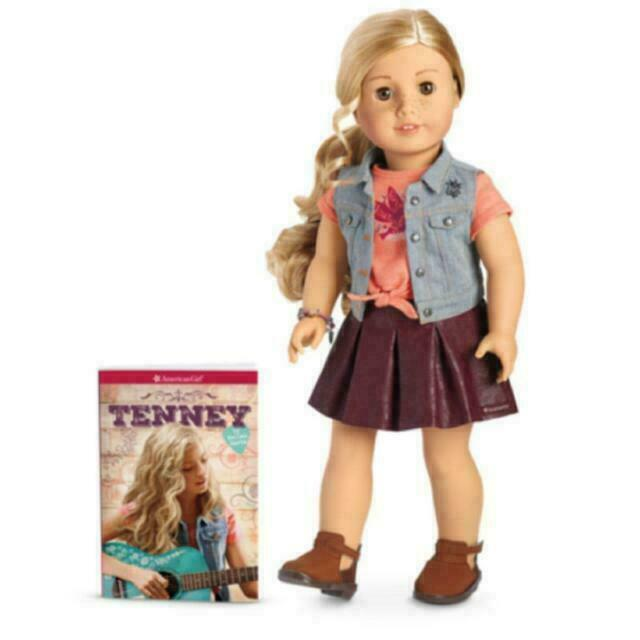 American Girl Dvm11 18 Inch Tenney Grant Doll And Book For Sale Online Ebay