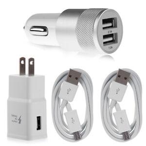 Chargeur-Secteur-Cable-USB-De-Voiture-Pour-Samsung-Galaxy-S7-Edge-S6-Note-4-5