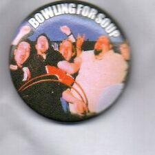 BOWLING FOR SOUP BUTTON BADGE American Rock Band - Drunk Enough To Dance 25mm
