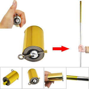 Pocket-Staff-Self-defense-Stainless-Steel-110cm-Lightweight-Telescopic-Portable