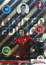 2016 Panini Adrenalyn EURO EXCLUSIVE Cristiano Ronaldo Limited Edition Version 2