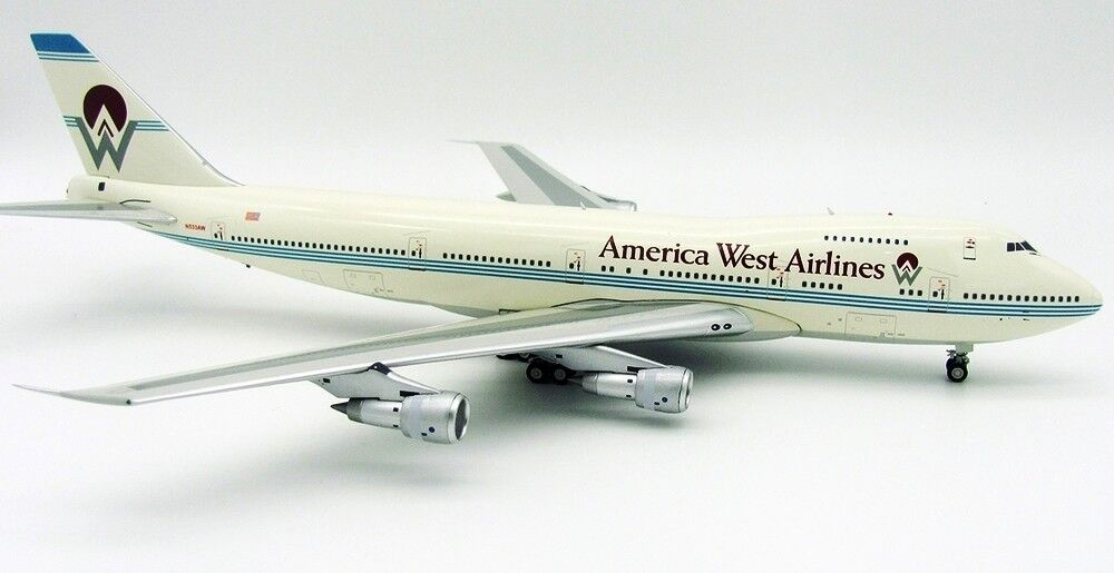 INFLIGHT 200 IF747HP001 1 200 AMERICA WEST AIRLINES BOEING 747-200 N533AW W STD