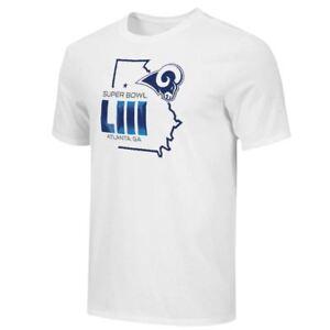 Los Angeles Rams Super Bowl LIII T-Shirt Field Position Tee  72afef810