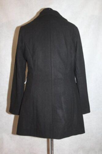 Nwt Edition ærtercoat uld Woman Haute Double Large Black breasted O6wHWOarqv