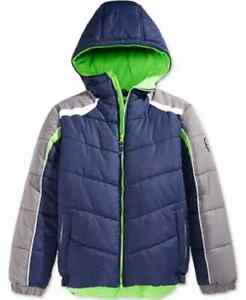 Protection System Little Boys Bubble Jacket,Atlantic, Size 14/16, Org. 85 $