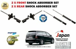 FOR MITSUBISHI GRANDIS 2004-/> 2X FRONT AND 2X REAR SHOCK ABSORBER SHOCKER SET