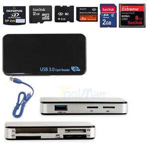 USB-3-0-Compact-Flash-All-in-1-Multi-Speicherkartenleser-Adapter-CF-Micro-SD-TF