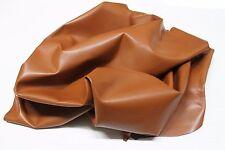 Italian Calf calfskin leather hide skin skins hides AGED COGANC RUSTY TAN 6sqf
