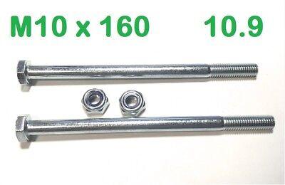 Sechskantschraube M10x40 10.9 verzinkt 1 St.
