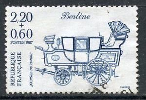 Uni Stamp / Timbre France Oblitere N° 2469 Journee Du Timbre / Berline / De Carnet Service Durable