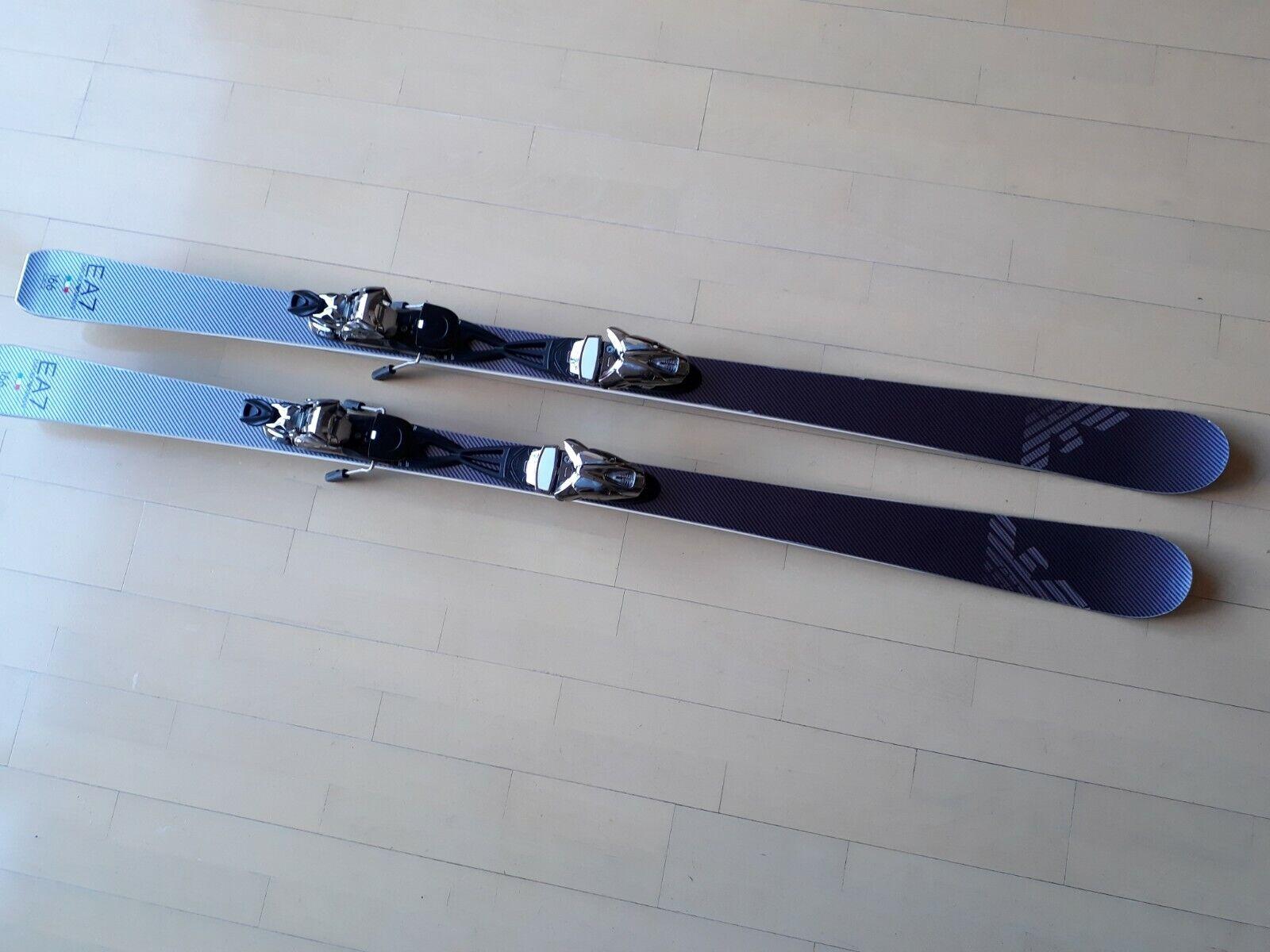 Armani Carving Skis from Emporio Armani Bond Street London 166cm RRP
