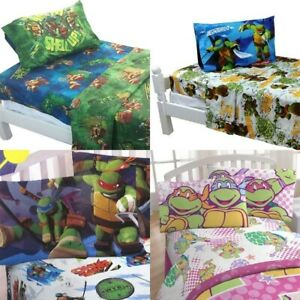 New Teenage Mutant Ninja Turtles Bed Sheets Set Tmnt