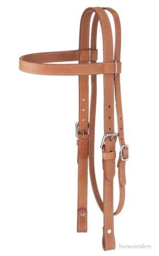 Projet de cheval western Browband assortis-bride-Huile Légère en Cuir