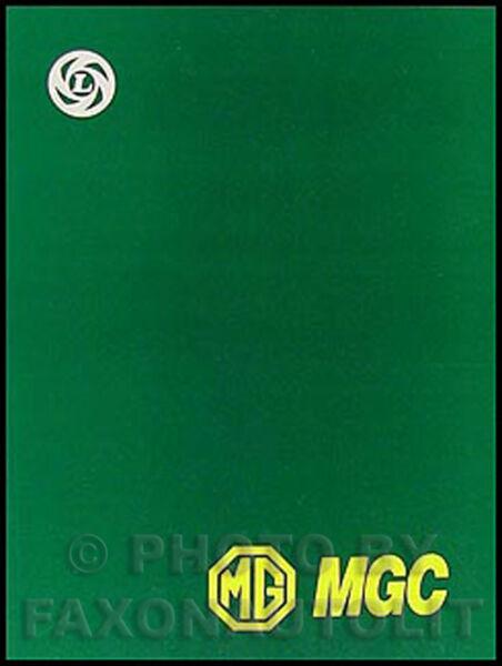 1967 1968 1969 Mg Mgc Manuale Di Negozio Mg C Servizio Riparazione Libro Nuovo Adatto Per Uomini E Donne Di Tutte Le Età In Tutte Le Stagioni