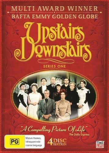 1 of 1 - Upstairs Downstairs : Series 1 (DVD, 2008, 4-Disc Set) SEALED