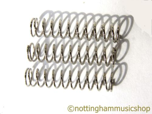 Three 23mm electric guitar pickup springs for mounting TL pickup to bridge