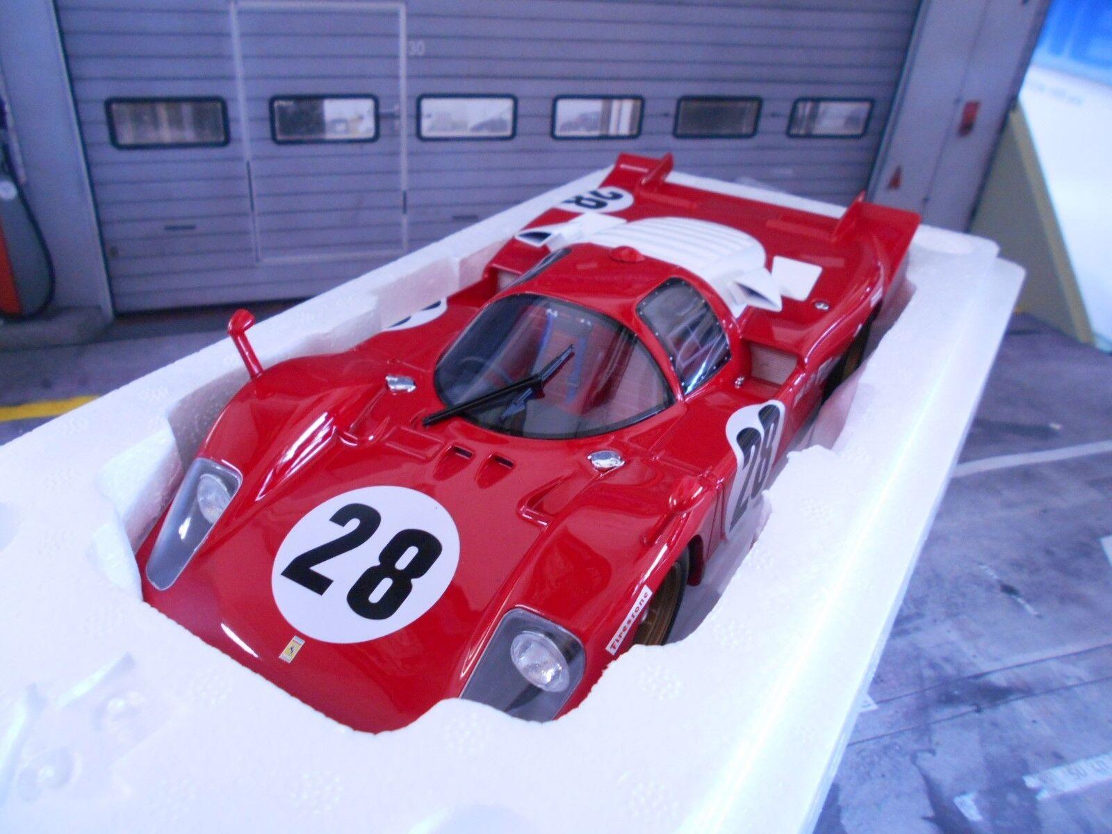 Ferrari 512s 512 S  28 Racing  24h Daytona 1970 Andretti Merzario CMR Resin 1 18  produit de qualité