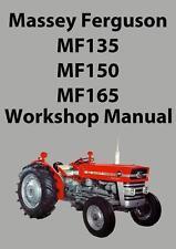 genuine massey ferguson 188 workshop manual ebay rh ebay com massey ferguson 35 tractor service manual Massey Ferguson Parts