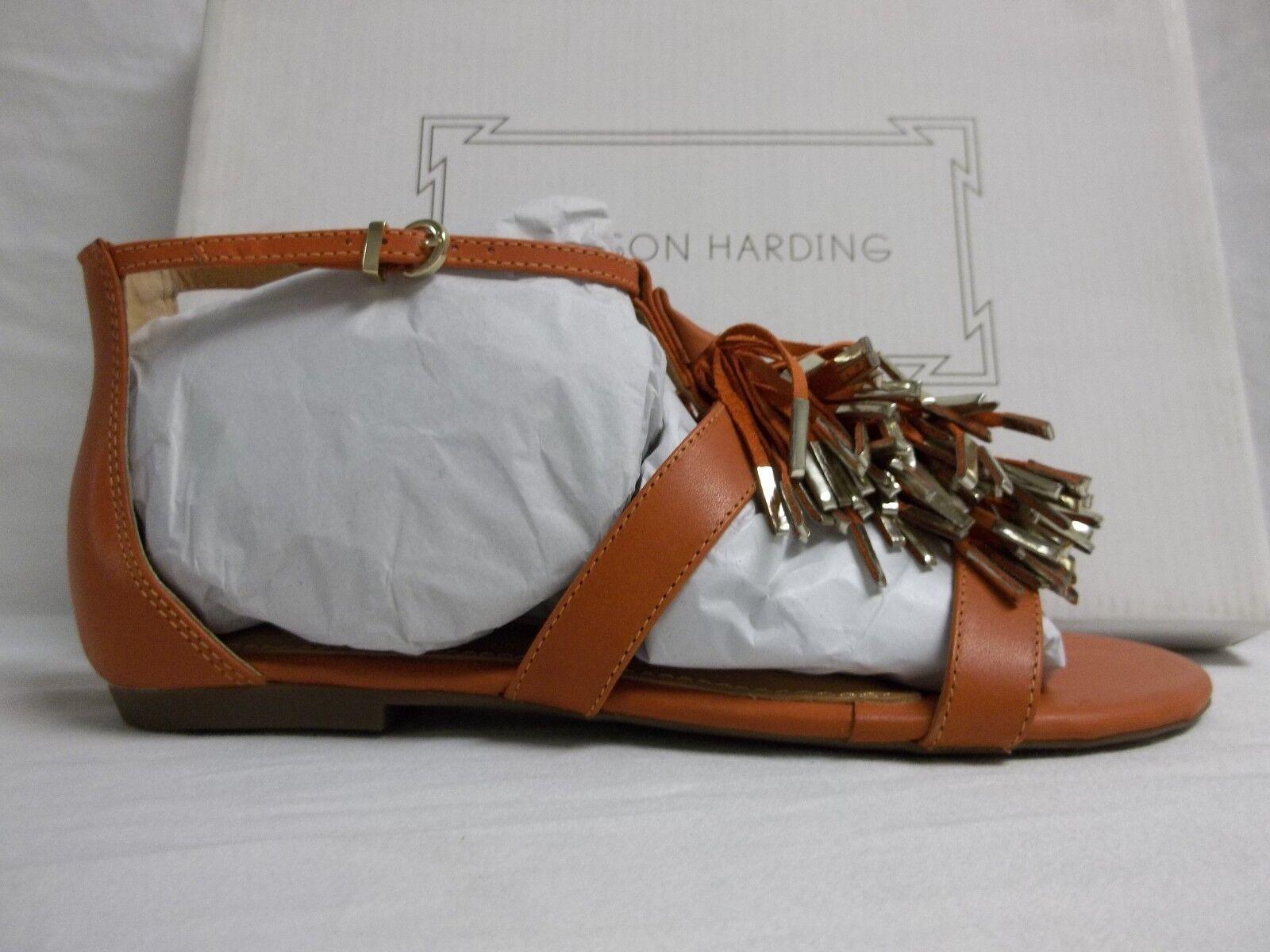 Madison Madison Madison Harding 6.5 M Sabrina Paprika Leder Gladiator Sandales New Damenschuhe Schuhes 47457c