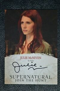 Supernatural-Seasons-4-6-JMC-Julie-McNiven-as-Anna-Autograph-Auto-Trading-Card