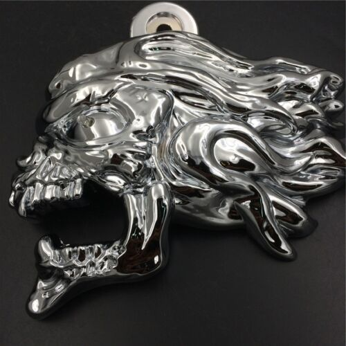 """Chrome Zombie horn cover w// LED For 92-16 Harley /""""cowbell/"""" and all V-rod/'s"""