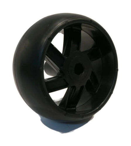 SMOOTH DECK WHEELS w// HARDWARE for Stens 210-203 Rotary 6916 Lawn Yard Mower 6