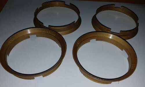 4x Zentrierringe für Alufelgen 76,9 x 74,1mm
