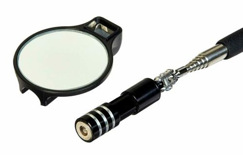 Mayhew Tools 17955 2 in Diameter Lighted Inspection Mirror