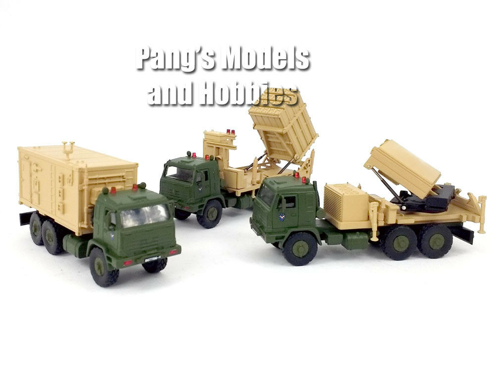System för luftförsvar av järnkupolen av 3 -fordon - IDF - 1  72 skala modellllerlerl
