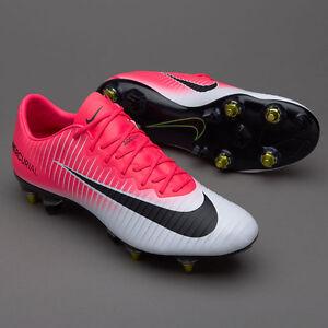 3020e28da04831 Nike Mercurial Vapor XI SG-Pro AC - Race Pink Black White 889287-602 ...