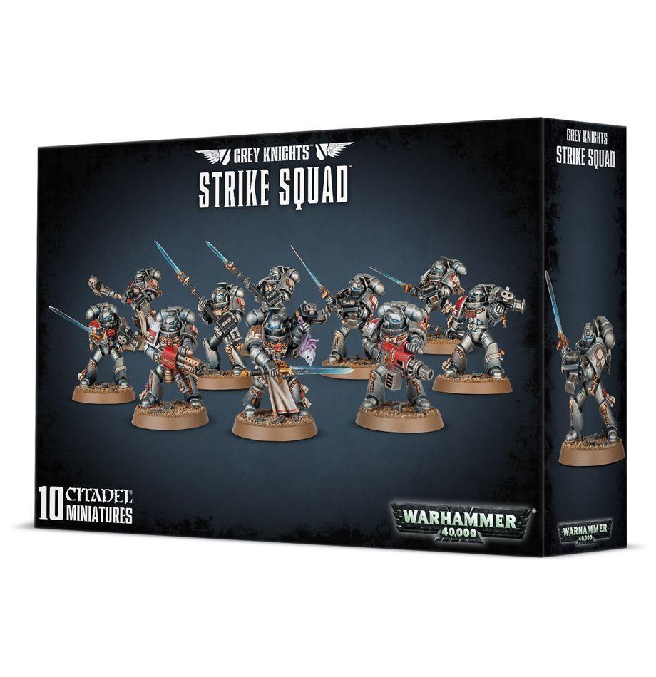 Warhammer 40k grauen ritter strike team nib