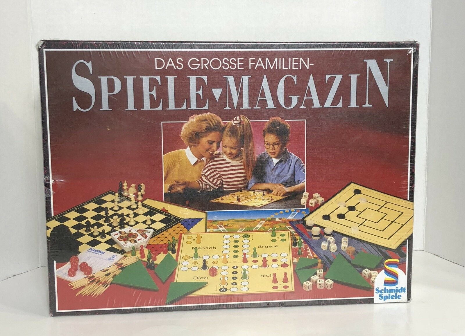 Sealed Vintage German Board Game Das Grosse Familien Spiele Magazin RARE