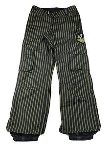 Burton-Shaun-White-Collection-Black-Snow-Pants-Ski-Snowboard-Men-s-XS-Fits-Big