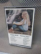 DONNA WEISS Rainbow Colors cassette tape NEW blind Philadelphia folk singer OG
