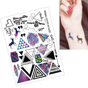 Geometric-Temporary-Tattoos-Body-Arm-Leg-Waterproof-Flash-Tattoo-Stickers-Hot